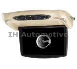 "Monitor DVD pantalla techo 10"". USB y SD. Carcasas Intercambiables"