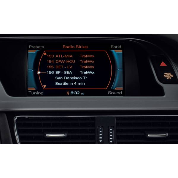 Interface Video Para Cámaras De Aparcamiento Sistemas Audi A4 A5