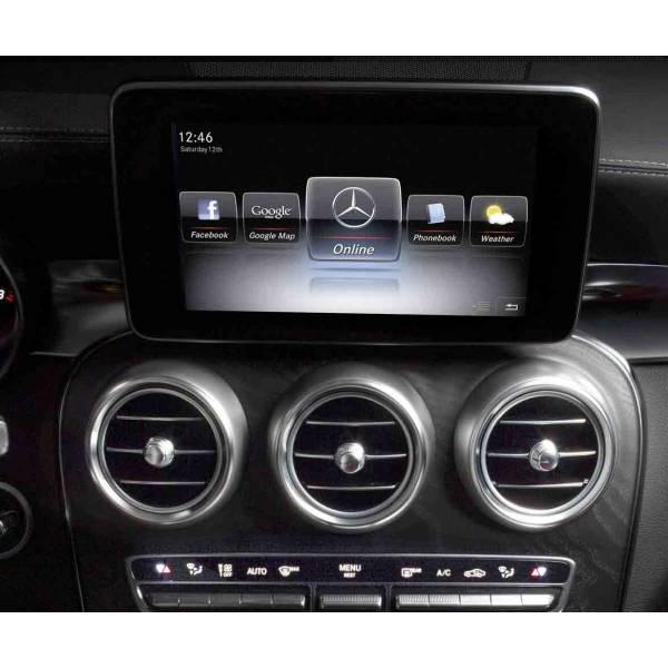 Interface video para cámaras de aparcamiento sistemas Mercedes NTG 5