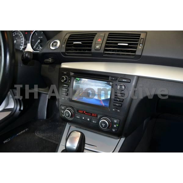 sistema de navegaci n radio gps para bmw serie 1 e8x aire auto titanium ih automotive. Black Bedroom Furniture Sets. Home Design Ideas