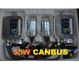 KIT xenon H4 simple 55W. Tecnología Canbus