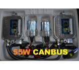 KIT xenon H3 55W. Tecnología Canbus