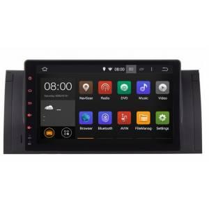 """Sistema Navegación / Radio Gps Android 9"""" Serie 5 E39 X5 E53"""