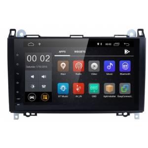 "Sistema Navegación / Radio Gps Android 9"" Mercedes A / B / Vito / Viano"