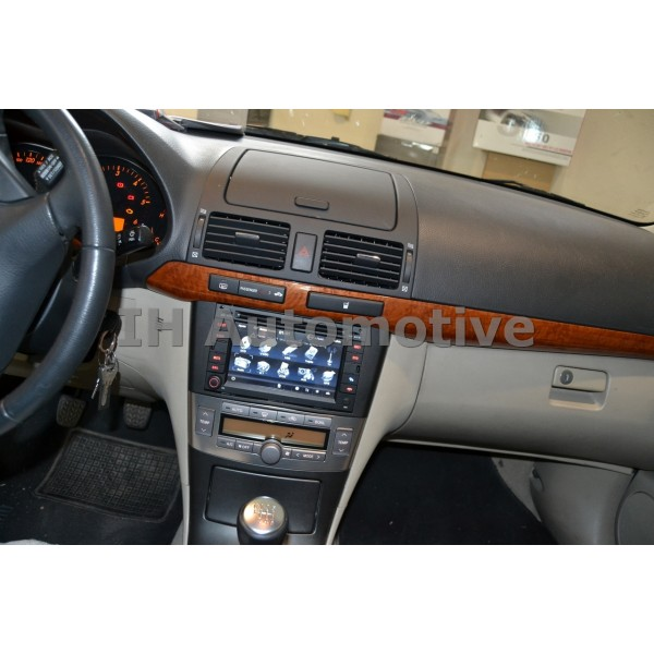 sistema de navegaci n radio gps para toyota avensis t25. Black Bedroom Furniture Sets. Home Design Ideas