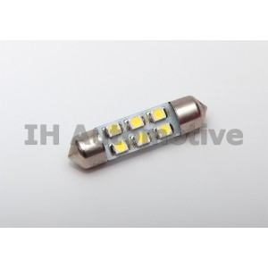 Bombilla led C5W / Feston con 6 leds smd chip 1210.
