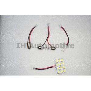 Panel 12 led smd multiconexión
