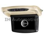 "Monitor DVD pantalla techo 9"". USB y SD. Carcasas Intercambiables"