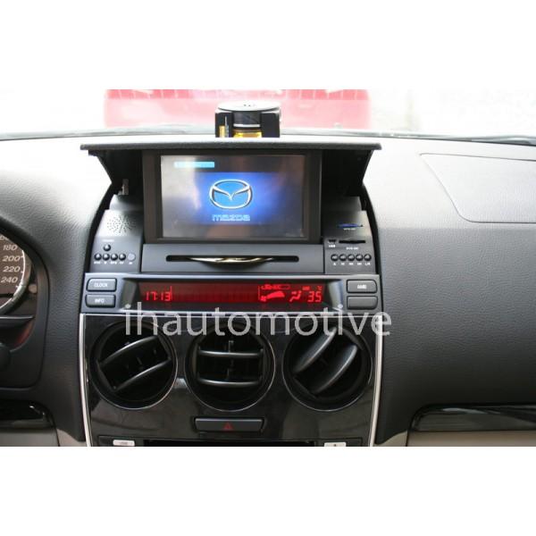 sistema de navegaci n radio gps para mazda 6 brilliant ih automotive. Black Bedroom Furniture Sets. Home Design Ideas
