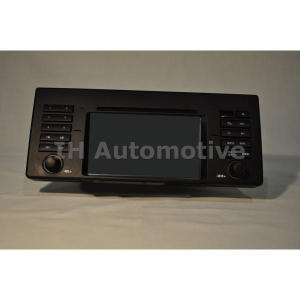 BMW X5 serie E53 ordenador de a bordo sistema de navegación Monitor de pantalla ancha de 6934413
