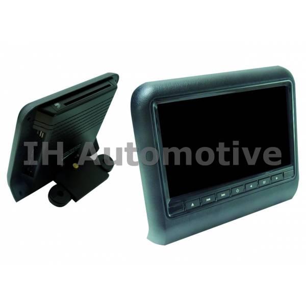 monitor tft para agarre a cabecero con dvd usb sd hdmi