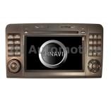 Sistema de Navegación / Radio Gps para Mercedes ML W164. Brilliant